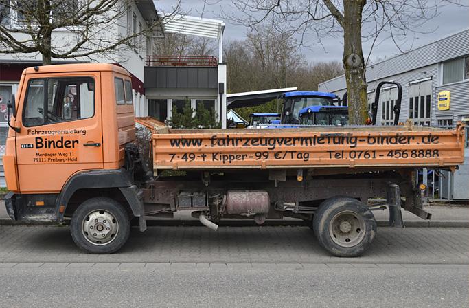 transporter sprinter lkw kipper vermietung umzugswagen mieten in freiburg. Black Bedroom Furniture Sets. Home Design Ideas